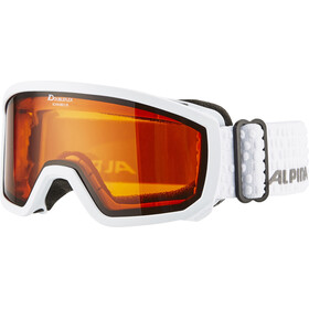 Alpina Scarabeo Doubleflex S2 - Gafas de esquí Niños - blanco